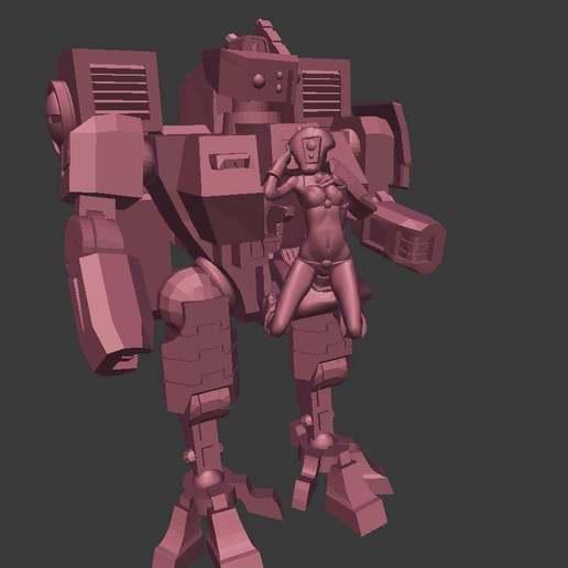 26295784d890980f949a387c21ed8ec5_display_large.jpg Télécharger fichier OBJ gratuit Combinaison de combat pilote bikini • Design pour impression 3D, Leesedrenfort