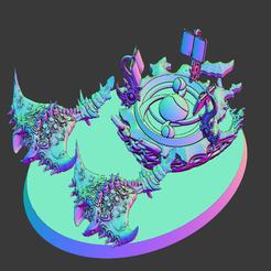 Imprimir en 3D gratis Carrozas de fuego, edición Scream Rock, leesedrenfort