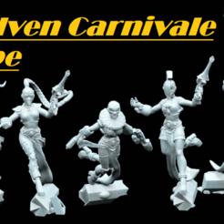 harleytroops6.png Télécharger fichier STL La troupe du carnaval des Elfes • Plan pour impression 3D, Leesedrenfort