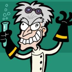 300px-Mad_scientist_caricature.png Download free STL file Famous Vile mad scientist • 3D printable model, Leesedrenfort
