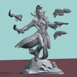 harleys.png Download STL file Elven Carnivale Leader 3D print model • 3D printing object, Leesedrenfort