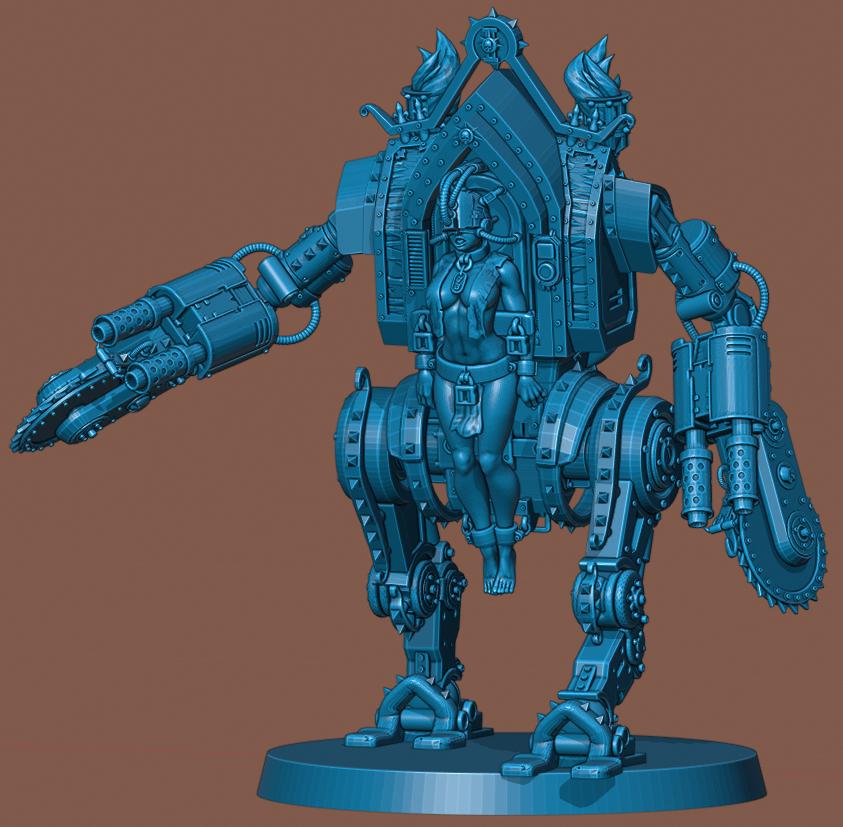 Penny Fin.png Download STL file Penny Nun Bot 2.0 • 3D print model, Leesedrenfort