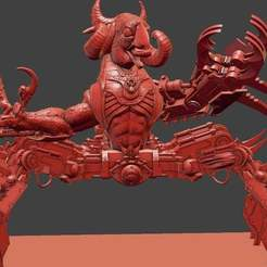 Download free 3D print files KFC Grinder Demon, leesedrenfort
