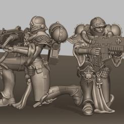 Descargar modelos 3D gratis Hermanas de la rodilla, leesedrenfort