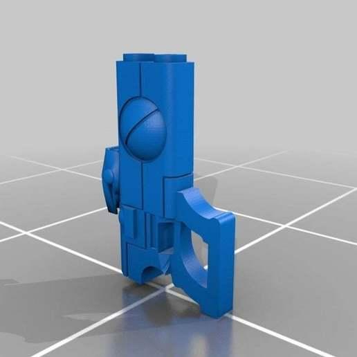 Download free 3D printing files Pulse Pistol, leesedrenfort