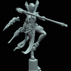 ShadowS2.png Download STL file Elven Carnivale Darkseer • Model to 3D print, Leesedrenfort