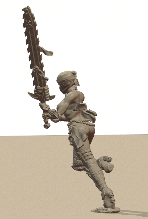 Repent6.png Download STL file Sisters of the Holy Chain Saw • 3D printing object, Leesedrenfort