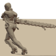 Repent8.png Download STL file Sisters of the Holy Chain Saw • 3D printing object, Leesedrenfort