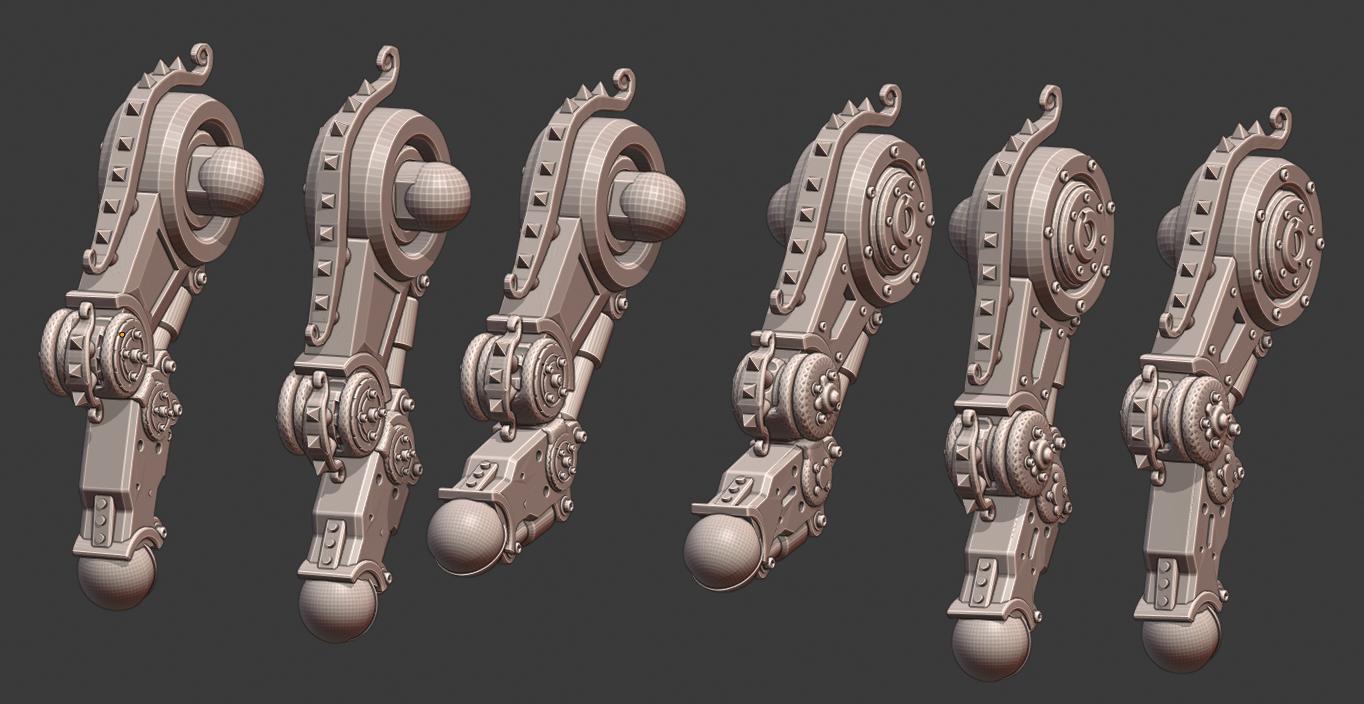Legs.png Download STL file Penny Nun Bot 2.0 • 3D print model, Leesedrenfort