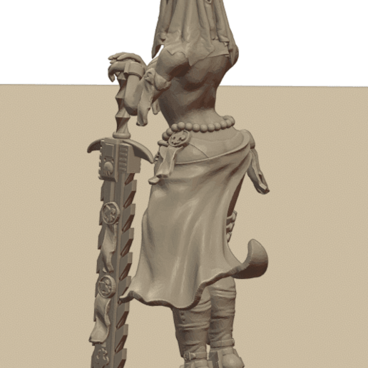 Repent9.png Download STL file Sisters of the Holy Chain Saw • 3D printing object, Leesedrenfort