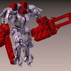Download free 3D printer files XV-9 Phased Ion upgrade pack, leesedrenfort