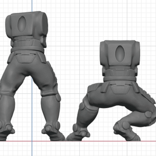 Tau_Fire_Warior_2.png Download STL file 2Pi Male legs and Torso bits • 3D printer model, Leesedrenfort