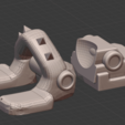 Foot.png Download STL file Penny Nun Bot 2.0 • 3D print model, Leesedrenfort
