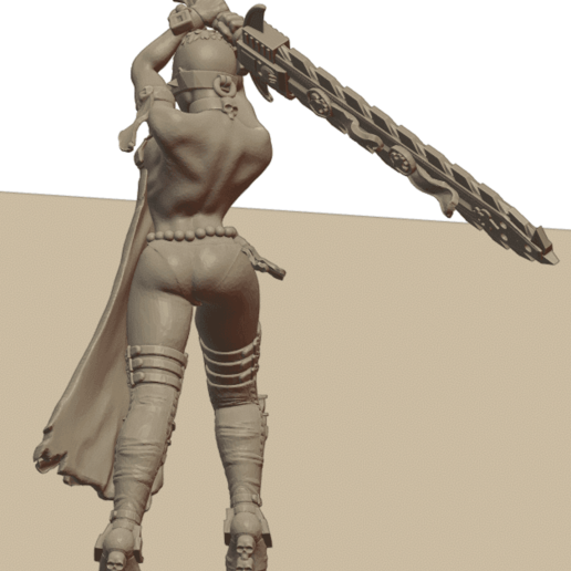 Repent7.png Download STL file Sisters of the Holy Chain Saw • 3D printing object, Leesedrenfort