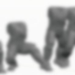 Tau Fire Warior Legs C.stl Download STL file 2Pi Male legs and Torso bits • 3D printer model, Leesedrenfort