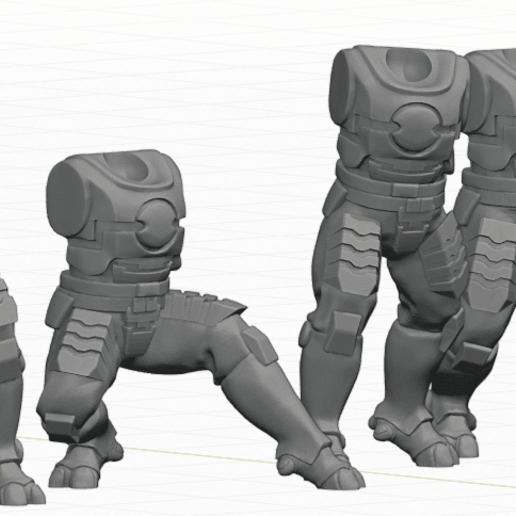 Tau_Fire_Warior_3.png Download STL file 2Pi Male legs and Torso bits • 3D printer model, Leesedrenfort