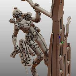 Impresiones 3D gratis Eve Assassin, leesedrenfort