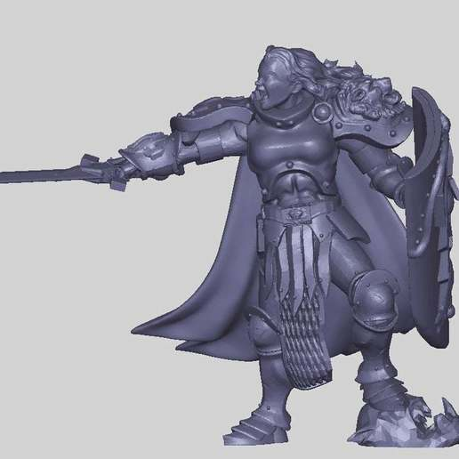 73d6c1c67e7e61c8d87ca03255dd110f_display_large.jpg Download free STL file Le Stormy Knight • 3D printable design, Leesedrenfort