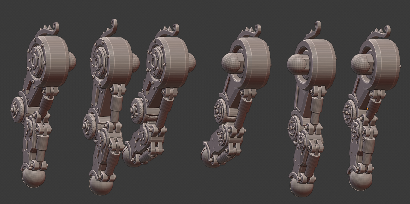 Legs2.png Download STL file Penny Nun Bot 2.0 • 3D print model, Leesedrenfort