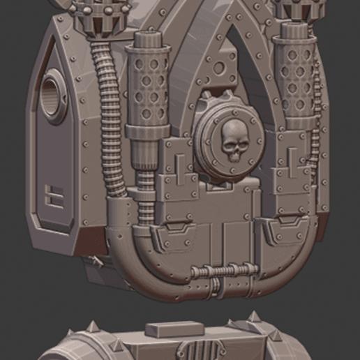 Torso2.png Download STL file Penny Nun Bot 2.0 • 3D print model, Leesedrenfort
