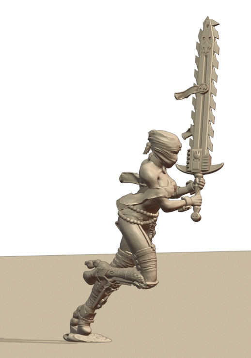Repent5.png Download STL file Sisters of the Holy Chain Saw • 3D printing object, Leesedrenfort
