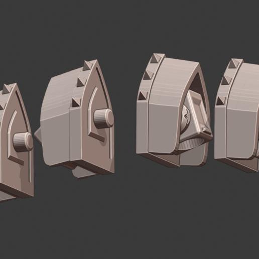 Shoulders.png Download STL file Penny Nun Bot 2.0 • 3D print model, Leesedrenfort