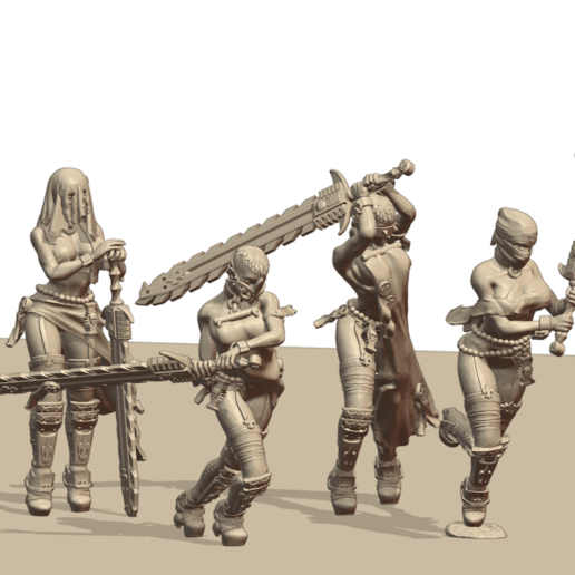 Repent1.png Download STL file Sisters of the Holy Chain Saw • 3D printing object, Leesedrenfort