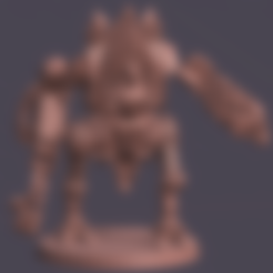 Bolter Flail Arm_fixed.stl Download STL file Morty Nun Bot  • 3D printable template, Leesedrenfort