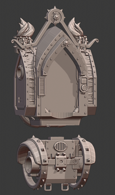 Torso.png Download STL file Penny Nun Bot 2.0 • 3D print model, Leesedrenfort