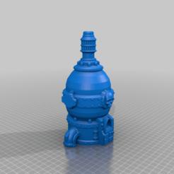 Furnace_Top2.png Télécharger fichier STL gratuit Four VMT pour les conduits • Design imprimable en 3D, Leesedrenfort