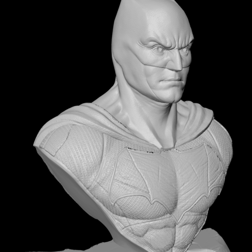 Face-E.png Download free STL file Batman Justice League • 3D printer model, IdeaMutante