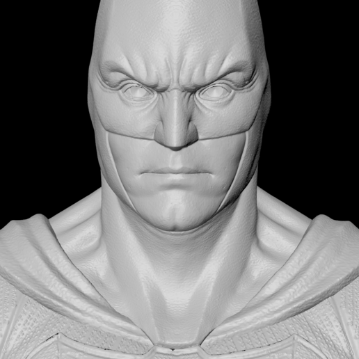 Face-G.png Download free STL file Batman Justice League • 3D printer model, IdeaMutante