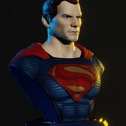 A.jpg Télécharger fichier STL Ligue Superman pour la justice • Plan à imprimer en 3D, IdeaMutante
