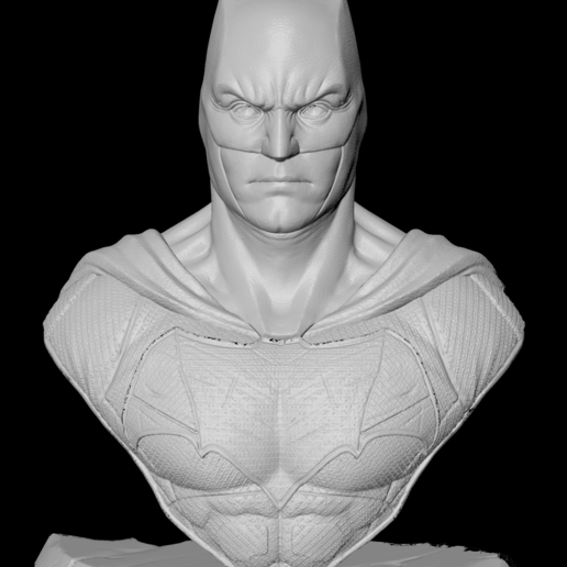 Face-F.png Download free STL file Batman Justice League • 3D printer model, IdeaMutante
