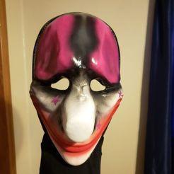 Impresiones 3D gratis Día de pago 2 Máscara de Houston, valertale