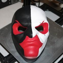 Télécharger modèle 3D gratuit Le masque de Scarface du deuxième jour de paie, valertale