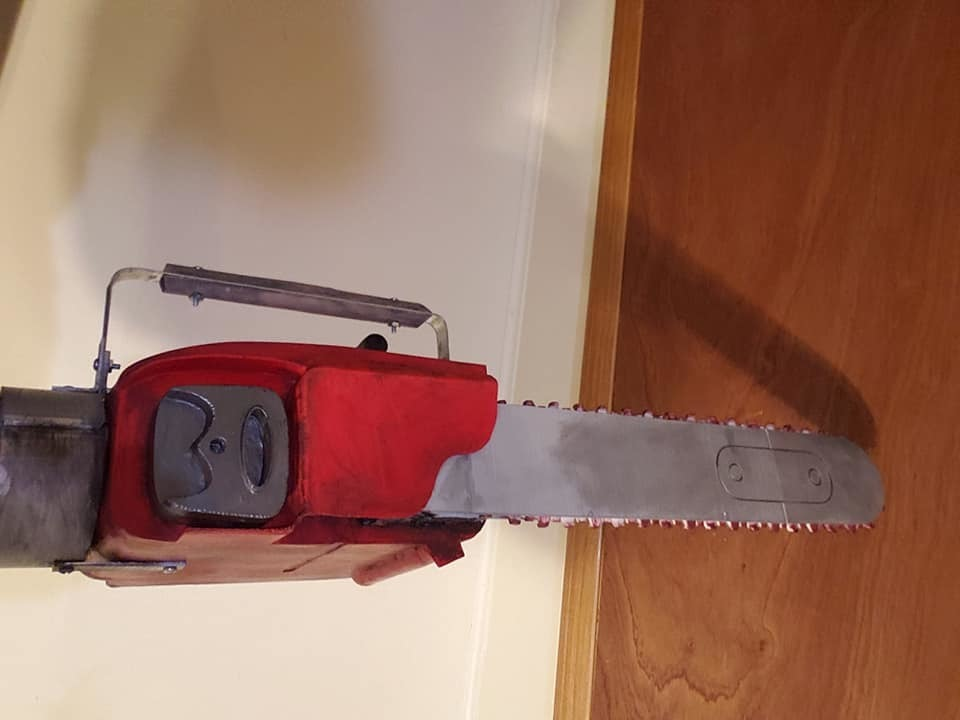 73310996_2411800969073838_8019792002876964864_n.jpg Download free STL file Ash Williams Chainsaw Hand (Evil Dead II & Army Of Darkness) • Object to 3D print, valertale