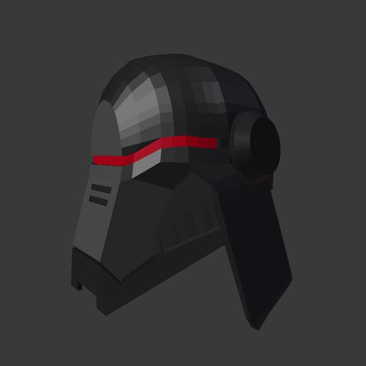 Screenshot_194.png Download free STL file Star Wars Second Sister Helmet • 3D printer object, valertale