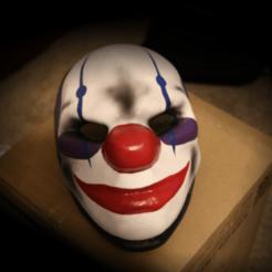 """Chains_By_Valertale.png Télécharger fichier STL gratuit Masque """"Payday 2 Chains • Objet imprimable en 3D, valertale"""