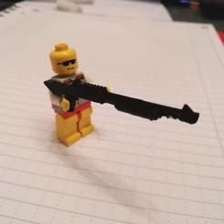 Descargar archivo STL ESCOPETA PARA LOS JUEGOS DE CONSTRUCCIÓN (LEGO) • Diseño para la impresora 3D, BRAKADOS