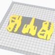Download 3D print files T-REX DINOSAUR PUZZLE 3D, BRAKADOS