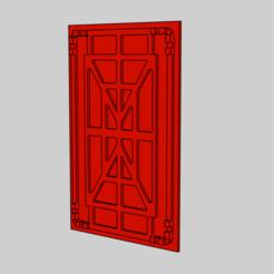 corridor panel.png Download STL file ALIENS PANEL CORRIDOR • 3D printable design, BRAKADOS