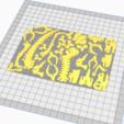 Descargar modelo 3D T-REX DINOSAURIO PUZZLE 3D, BRAKADOS