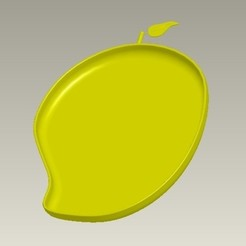 Descargar modelos 3D Plato Forma de mango, bimansengineering