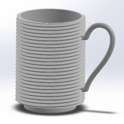 Download STL files Coffee Mug, bimansengineering