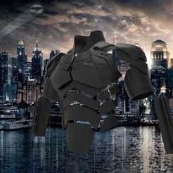 Download STL file The Bat-Man - Robert Pattinson Movie Armor • 3D printer model, sparkheart95