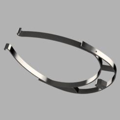 Descargar modelo 3D gratis VISOR VMO V4 (15gr) - ESCUDO IMPRESO EN 3D - CORONAVIRUS COVID-19, victorottati