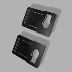 Imprimir en 3D gratis Hebilla VMO para la tira elástica PRUSA SHIELD 25mm - 20mm - 15mm, victorottati