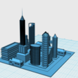 Download free 3D printer designs regular city, farrrbod