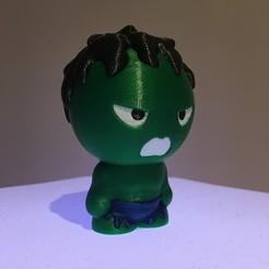Impresiones 3D gratis Hulk figura 4 Colores, helisud